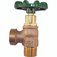 Arrowhead Brass 221LF 1/2 By 3/4 Inch Boiler Drain Male Iron Pipe By Hose Size