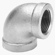 Anvil 8700124350 1-1/2 Inch Galvanized 90 Degree Elbow