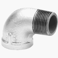 Anvil 8700127601 1/8 Inch Galvanized Street Elbow