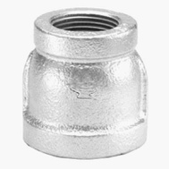 Anvil 8700135851 2 Inch By 1-1/2 Inch Galvanized Reducing Coupling