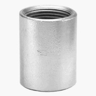 Anvil 8700158853 1-1/2 Inch Galvanized Merchant Coupling