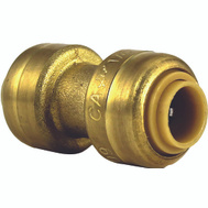 Cash Acme U004LFA Sharkbite Push Fit Sb Coupling 1/4