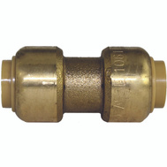 Cash Acme U006LFA Sharkbite Push Fit Sb Coupling 3/8
