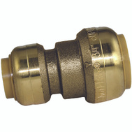 Cash Acme U058LFA Sharkbite Push Fit Sb Coupling 1/2X3/4In