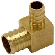 Cash Acme UC274LFA Sharkbite Elbow Brass 1/2Pex X 3/4Pex