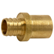 Cash Acme UC608LFA Adapter Brass 3/4Pex X 3/4M Sw