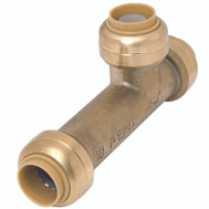 Cash Acme U3362LFA Tee Slip Brass 1/2X1/2X1/2In