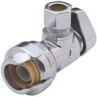 Cash Acme 23036-0000LF Sharkbite Valve 1/2X3/8In Angle Psh Fit