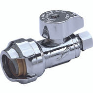Cash Acme 23037-0000LF Sharkbite Valve 1/2x3/8in Strght Psh Fit