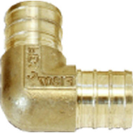 Cash Acme UC256LFA Sharkbite Elbow Brass 3/4Pex