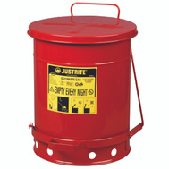 Justrite 09300 Oily Waste Can 10 Gal