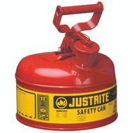 Justrite 7110100 Can Type1 Sfty Red 1Gal