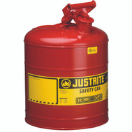 Justrite 7150100 Can Type1 Safety Red 5Gal