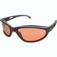 Edge Wolf Peak TSM215 Dakura Polarized Safety Glasses Black With Copper Lens