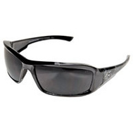 Edge Wolf Peak XB416-S Skull Black Smoke Lens Safety Glasses