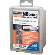Simpson Strong Tie N8DHDG-R N8d Hot Dipped Galvanized Lb N8d Nail