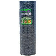 Jackson Wire 12014629 48 Inch By 150 Foot 1 Inch Poultry Netting Black Vinyl Coated