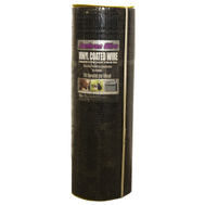 Jackson Wire 11033824 1/2 By 36 Inch By 100 Foot Bl Vinyl Hot Dipped Cloth 19 Gauge