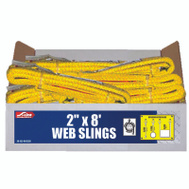 Ancra S-Line 20-EE2-9802X8 2 Inch By 8 Foot 2Ply Twisted Poly Sling