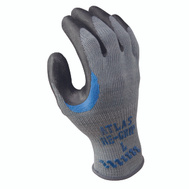 Showa 330S-07.RT Gloves Work With Black Coating Small