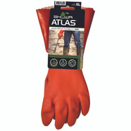 Showa 620XL-10.RT Gloves Pvc 12In With Knit Liner Extra-Large