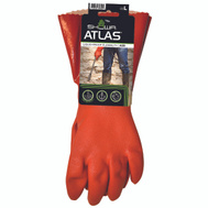 Showa 620L-09.RT Gloves Pvc 12In With Knit Linr Large