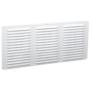 Air Vent 84200 White Undereave Vent 16 By 8 Inch