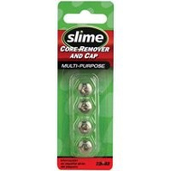 Slime 22052 Valve Cap Slotted Head Chrm