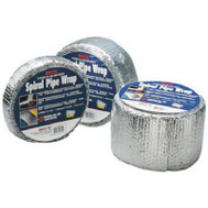 Reflectix SPW0402512 4 Inch By 25 Foot Spiral Pipe Wrap