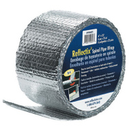 Reflectix SPW0602508 6 Inch X 25 Foot Spiral Pipe Wrap