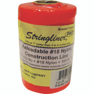 Stringliner 35459 Twine 500 Foot Braid Fluorescent Orange