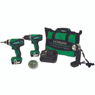 Hitachi KC10DFL2M Drill/Drvr Combo Li-Ion 12V
