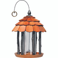 Woodstream 50129 Perky Pet 2 Pound Wood Gazebo Bird Feeder