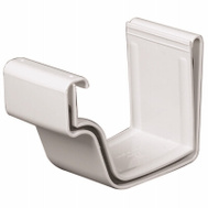 Amerimax M0608 2PC 5 Inch White Joiner