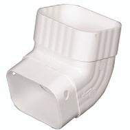 Amerimax M0627 Front A Elbow 2 By 3 Inch White