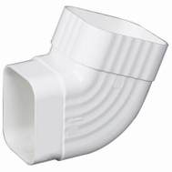 Amerimax M0628 Side B Elbow 2 By 3 Inch White