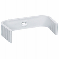 Amerimax M0634-30 Downspout Clip Traditional 2 By 3 Inch White