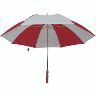 HomeBasix TF-06 Umbrella Golf 29In Red/White