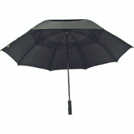 HomeBasix TF-08 29 Inch Fiberglass Black Golf Umbrella