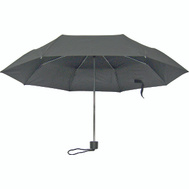 HomeBasix 123 Rain Umbrella Mini 19-1/2 Inch Black