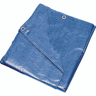 ProSource T0608BB90 Blue Medium Duty Poly Tarpaulin 6 By 8 Foot