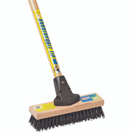 The Ames Companies Inc 918AFOR Polypropylene Deck Scrub Brush With Handle 10 Inch