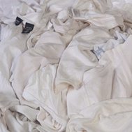 All Rags R701-25 Reclaimed Wht Knits 25#