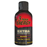5 Hour Energy 718128 2 Ounce Berry Flavor Bottles, Extra Strength