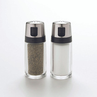 Oxo 1234780 Good Grips Shaker Set Salt/Pepper Clear