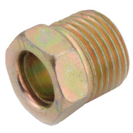 Anderson Metal 54340-04 1/4 Inch Inverted Flare Steel Nut