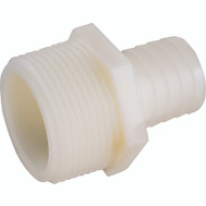 Anderson Metal 53701-0406 / 52674B 3/8 By 1/4 Inch Plastic Tubing Male Adapter