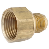 Anderson Metal 54806-0608 3/8 By 1/2 Inch Flare Couplings