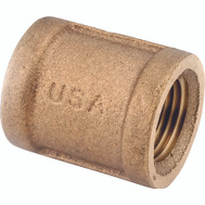 Anderson Metal 738103-08 Coupling Brass 1/2fpt
