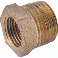 Anderson Metal 738110-0806 Bushing Hex Red Brs 1/2 X 3/8
